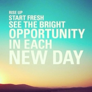 opportunity each day